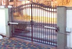 FAAC 412 автоматика распашных ворот