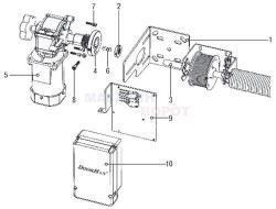 DoorHan Shaft-20 Автоматика для секционных ворот
