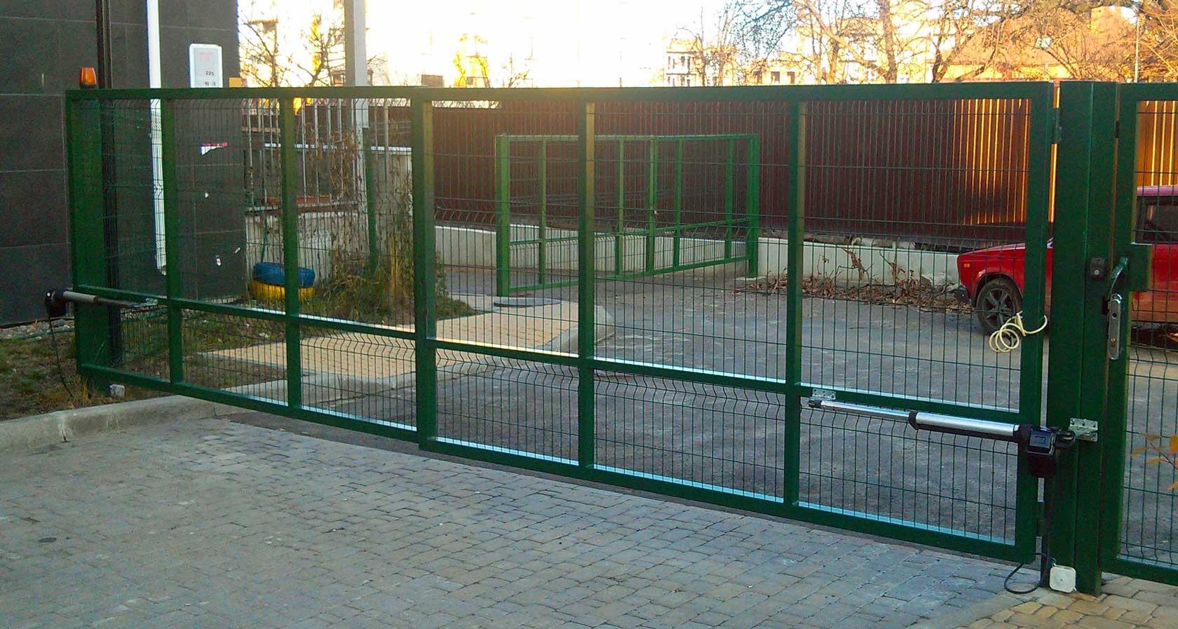 Автоматика для распашных ворот PK05