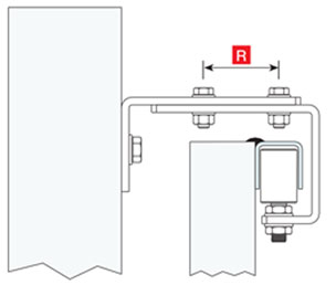 Установка регулируемого направляющего ролика на откатные ворота - рис.1