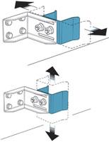Раздвижные ворота своими руками: технические и монтажные размеры нижнего ловителя - рис.3