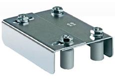 Раздвижные ворота своими руками: технические и монтажные размеры роликовой направляющей - рис.1