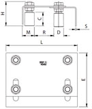Раздвижные ворота своими руками: технические и монтажные размеры роликовой направляющей - рис.2