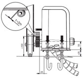 Монтаж привода откатных ворот компании Roger Technology S.p.A. - рис.2